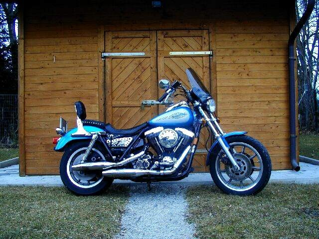 Harley Low Rider Convertible ab 1992