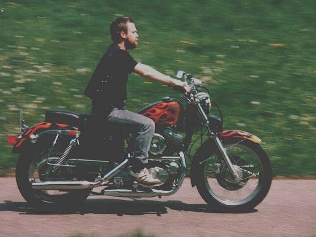 Harley Sportster 1200  1990 - 1992
